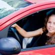 Woman in the car — Stock Photo #37046983