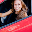 Woman in the car — Stock Photo #37047005