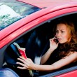 Woman in the car — Stock Photo #37047091