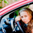 Woman in the car — Stock Photo #37047481