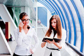 Two business women — Stock Photo