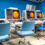 Mission control center — Stock Photo