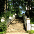 The stone steps of the ancient stairs — Stock Photo #14513607