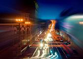 Vida nocturna de la ciudad — Foto de Stock