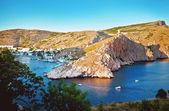 Piękny widok na zatokę w miejscowości — Zdjęcie stockowe