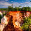 Providence Canyon — Stock Photo