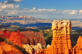 Hoodoo rock formation in Bryce Canyon. — Stock Photo