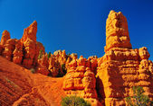 Rock formations in red canyon park in Utah. — Stock Photo