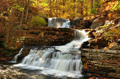 Upper falls at Delaware Water Gap — Stock Photo