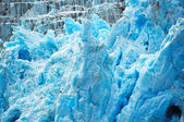 Deep blue glacier — Stockfoto