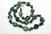 Green beads — Stockfoto