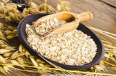 Porridge oats — Stock Photo