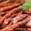 Frankfurterki world to known and beloved thin small sausages — Stock Photo #14857663