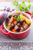 Beans soup — Stock Photo