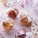Home-made nibble - muesli - small ball — Stock Photo #22122295
