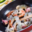 Shrimp roast Indonesian - Stock Photo