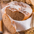 Freshly baked traditional bread — Stock Photo #22183433