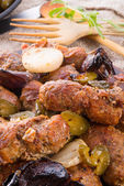 Meat beefs olive — Stockfoto