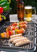 Summer grill party — Stock Photo