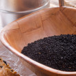 Black cumin (Nigella sativa) — Stock Photo