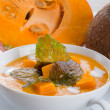 Foto Stock: Pumpkin soup