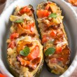 Stock Photo: Stuffed zucchini