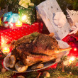 christmas goose — Stock Photo