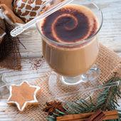 クリスマス コーヒー — ストック写真
