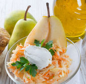Celery salad with pear — Stock Photo