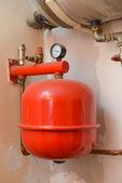 Old heating installation — Foto de Stock