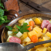 Rutabaga soup — Stock Photo