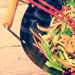 China wok- vintage style — Stock Photo #40155085
