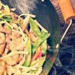China wok- vintage style — Stock Photo #40160157