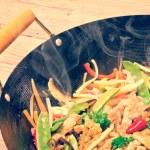 China wok- vintage style — Stock Photo #40181551
