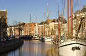 Groningen harbour — Stock Photo