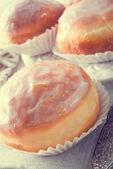 Doughnut - vintage style — Stock Photo