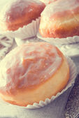 Doughnut - vintage style — Stok fotoğraf