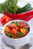Hungarian goulash — Stock Photo