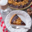 Pears chocolate tart — Stock Photo #41606065