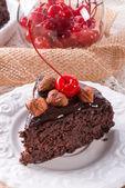 Chocolate Walnut cake — Photo