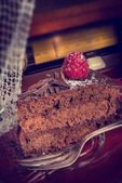 Chocolate cake — Foto Stock