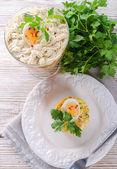 ポーランドの野菜のサラダ — ストック写真