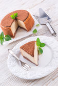 Tasty Cheesecake — Stock Photo
