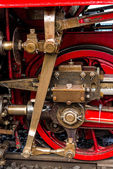 The technology of the steam locomotive — Stockfoto