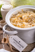 Homemade sauerkraut — Stock Photo