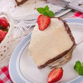 Tvarohový dort — Stock fotografie