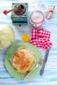Stewed cabbage — Stock Photo