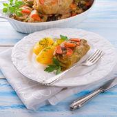 Baked cabbage rolls — Foto de Stock