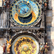 Astronomical Clock. Prague. - Stock Photo