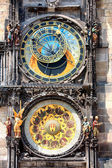 Astronomical Clock. Prague. — Foto de Stock